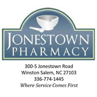 Jonestown Pharmacy - 300-5 Jonestown Rd Winston-Salem, NC 27104 336-774-1445