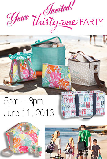 Thirty-one Party/Fundraiser! June 11th – 5pm